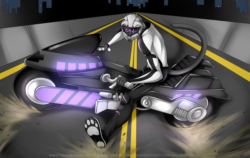 Commission: Biker Dex