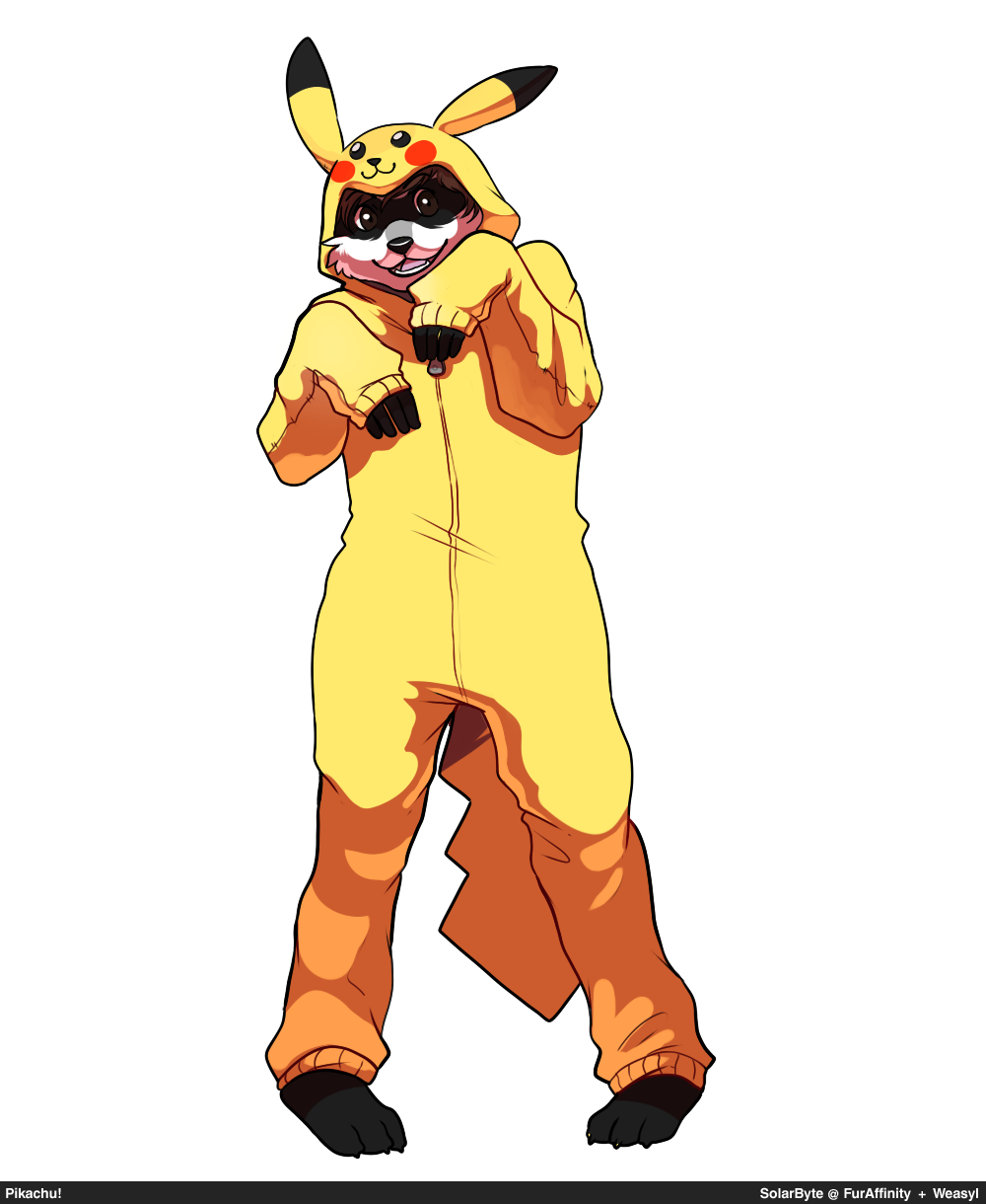 Most recent image: Pikachu! (SolarByte)