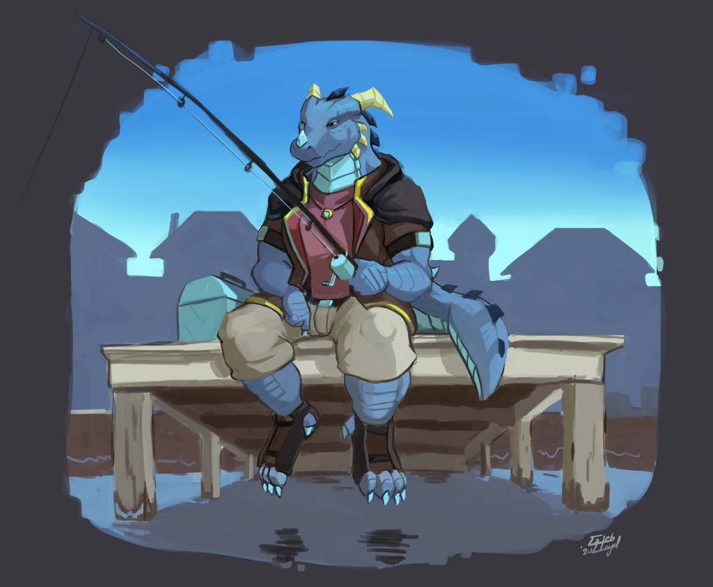 Fishing Drak
