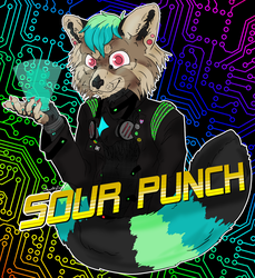 Sour Punch - Badge