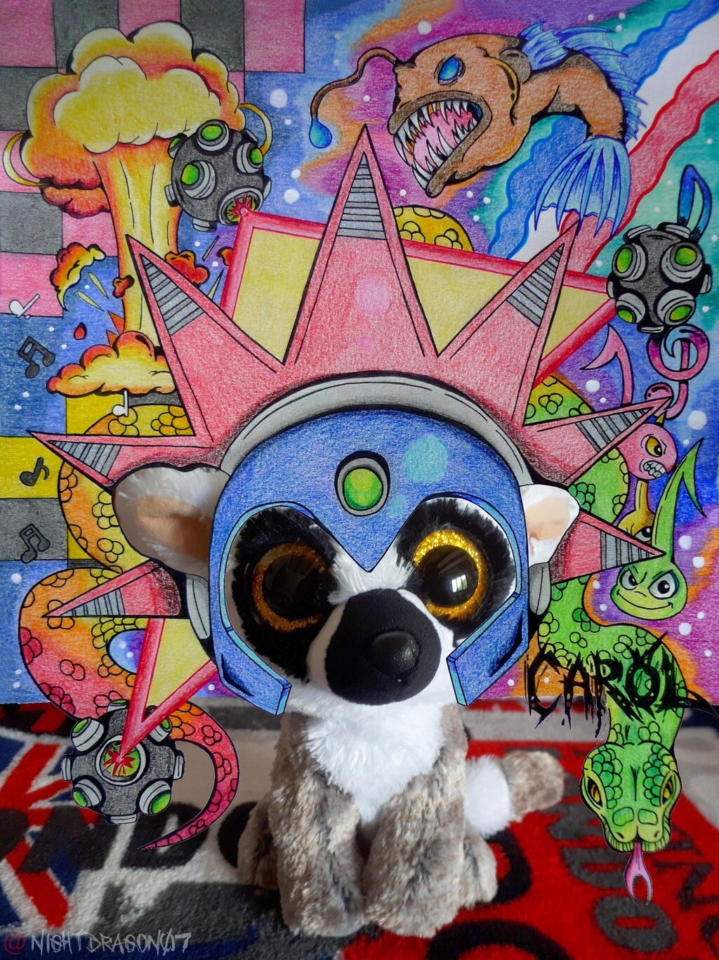 [Fantasy Lemurs] I'm an explosive artist