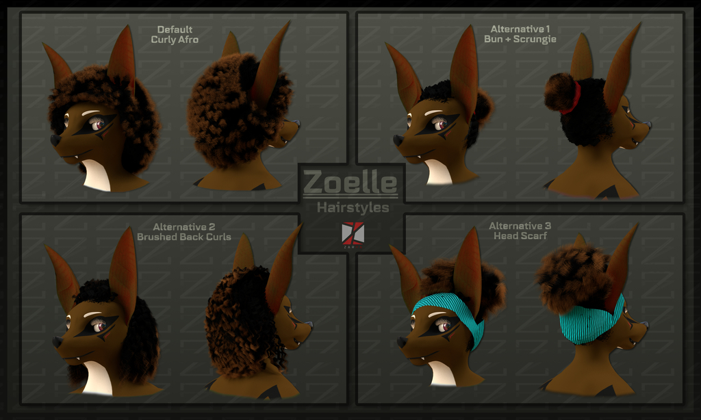 Zoelle - Hairstyles Ref