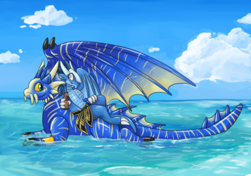 Squeaky Dergs Lounging on the Sea (Eltha)