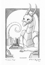 The Librarian Dragon
