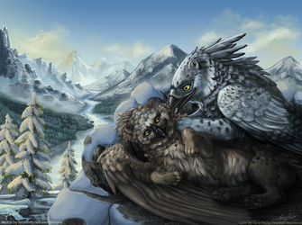 [EF 20] Morning Preens - Collab with EosFoxx