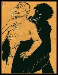 [Commission]-Raven Embrace