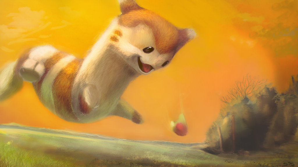 Most recent image: Chasing berry