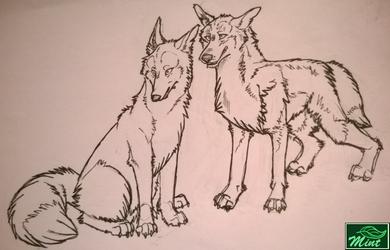 thar be wolves