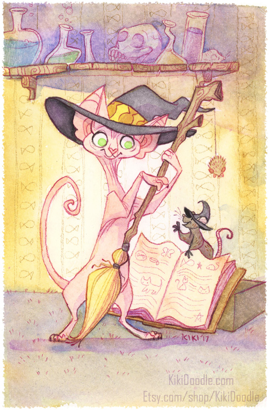 Most recent image: Sphynx Witch