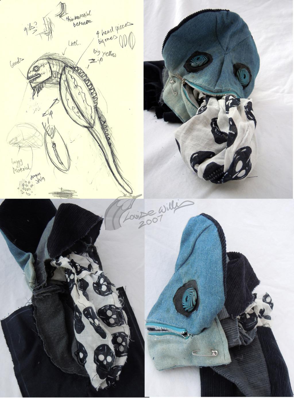 Unfinished Sea Monster Details