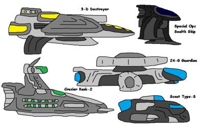 Allies StarShips
