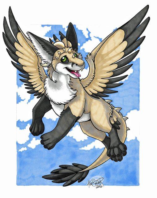 YCH - Dutch Angel Dragon Negunala