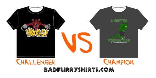 Shirt Wars!