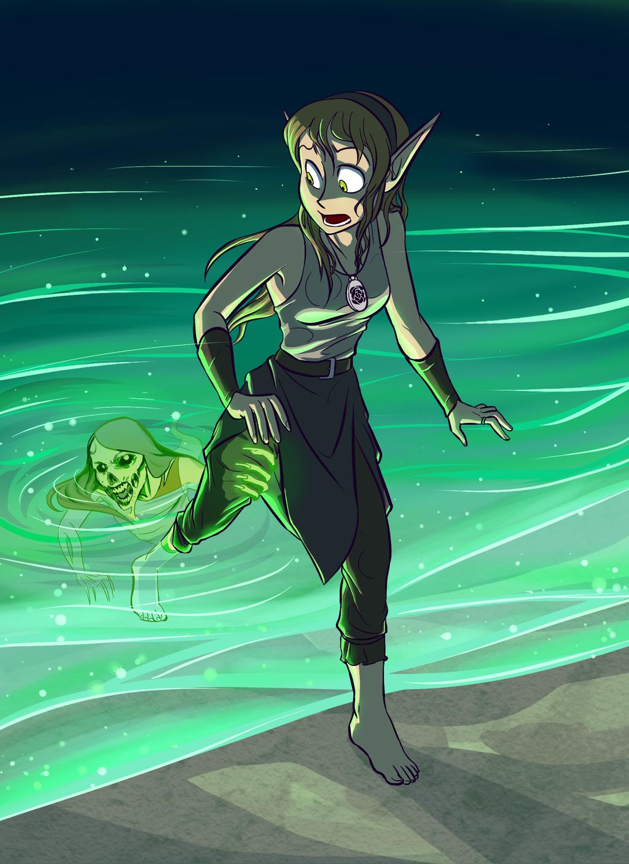Dahlia: Escape the Ocean!