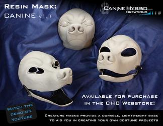 Resin Mask: Canine v1.1