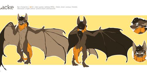 [NOT MY ART][REF]Lacke Bat