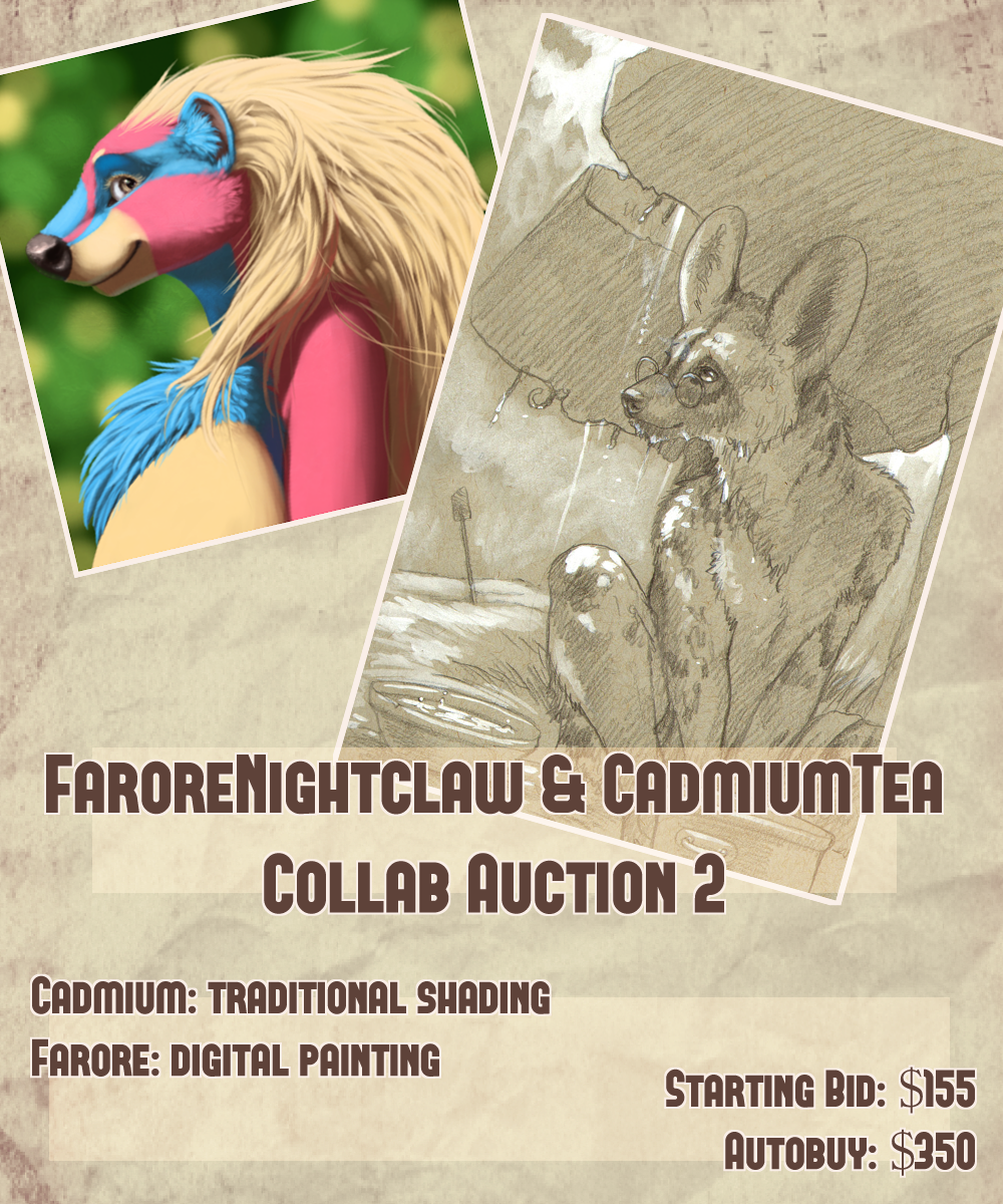 Featured image: Farore x Cadmiumtea Collab Auction! Digital Painting Edition