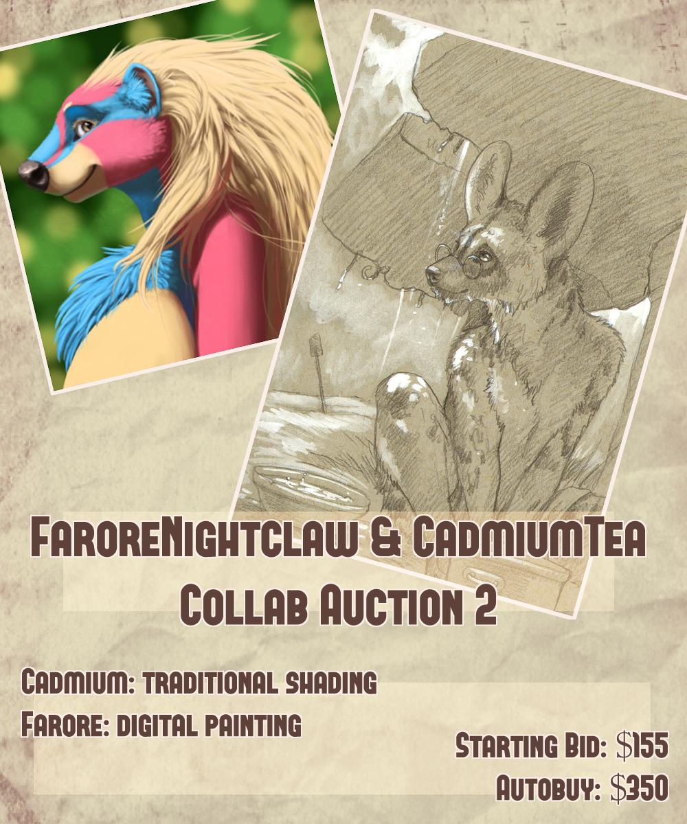 Farore x Cadmiumtea Collab Auction! Digital Painting Edition