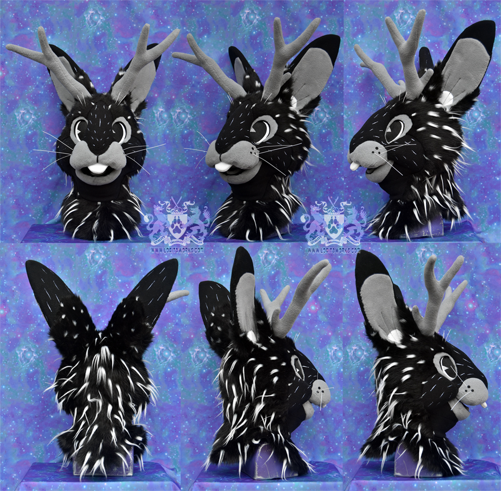 Sawyer Jackalope Head