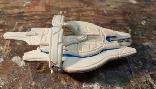 Custom Scratch Made PVC Ship-Close UP