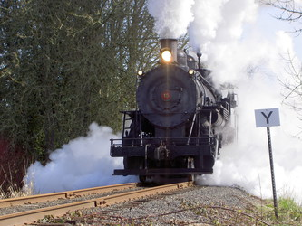 Full Steam athe Yard Limit