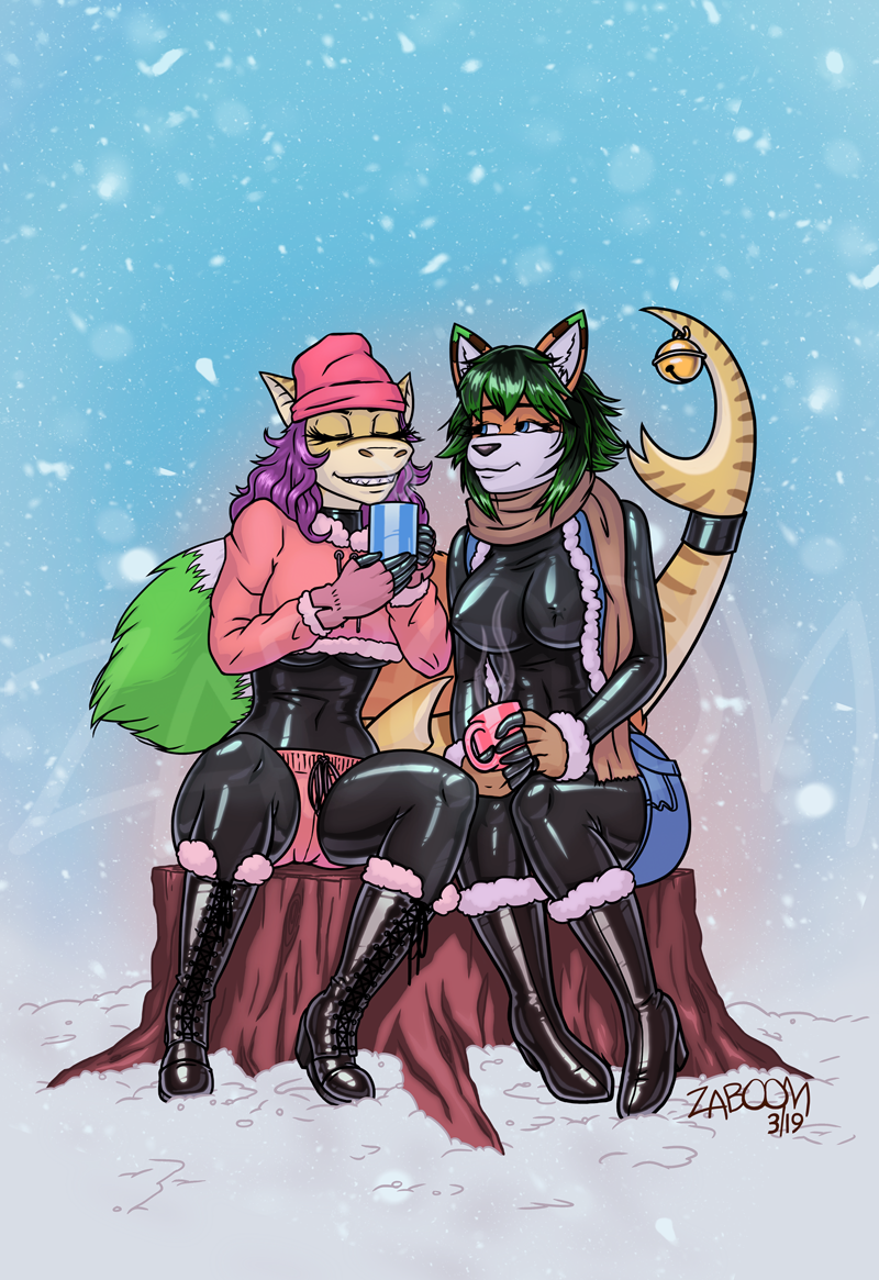 [Commission] Sharing some Hot Cocoa