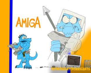 Amiga the Kobold