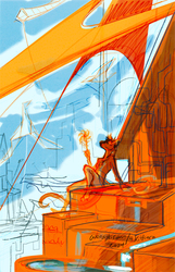 Kite City - sketch concept