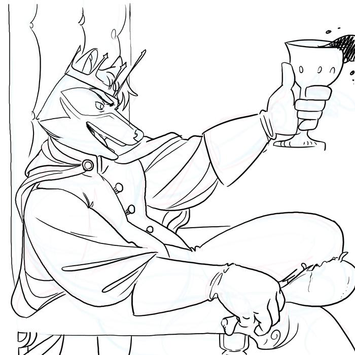 Sketch stuff - King Wes
