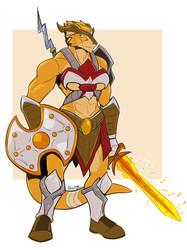 [C] Belcoria the Eldritch Knight!