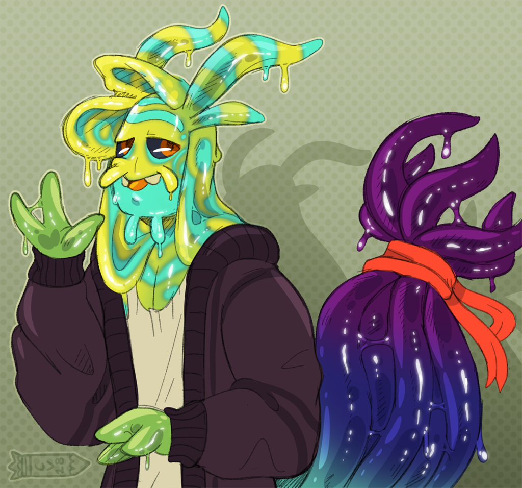 Rad Sea Slug Man - COMM
