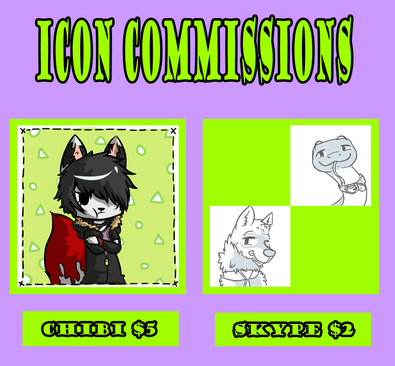 Icon Commissions [OPEN]