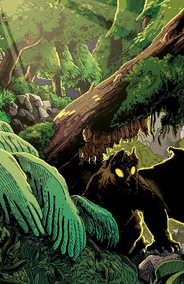Comics Dungeon: BATSQUATCH poster!