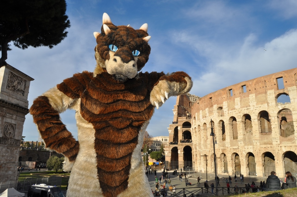 Rampaging at the Colosseum!