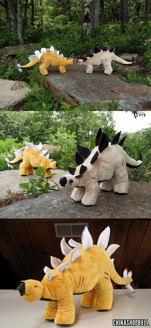 Stegosaurus I & II
