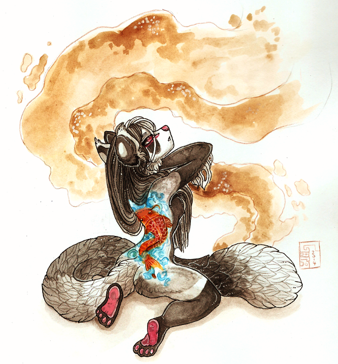 Most recent image: The mistress of smoke