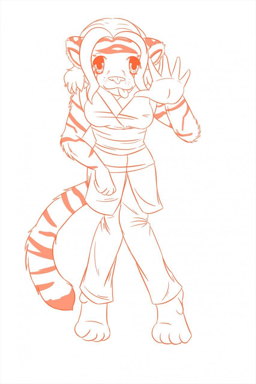 Atia Sketch by strawberryneko