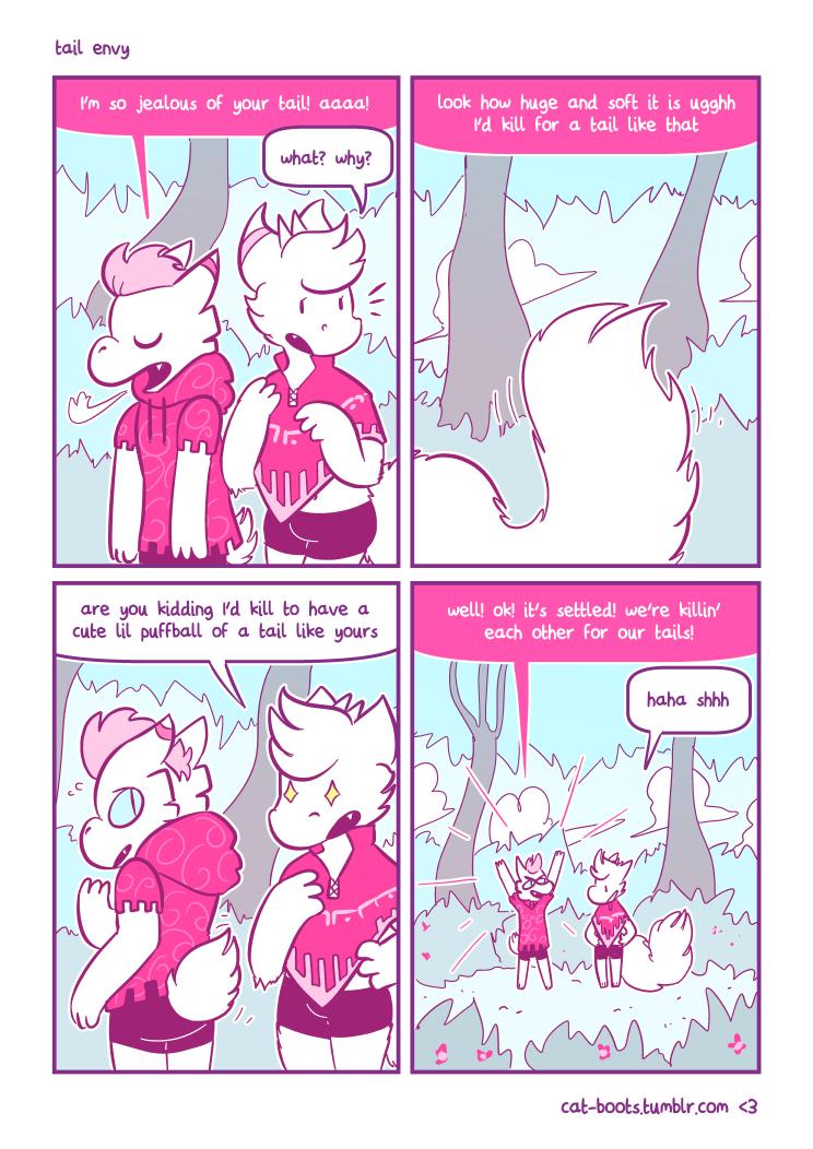 [comic] tail envy
