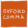 [past stages] oxford comma