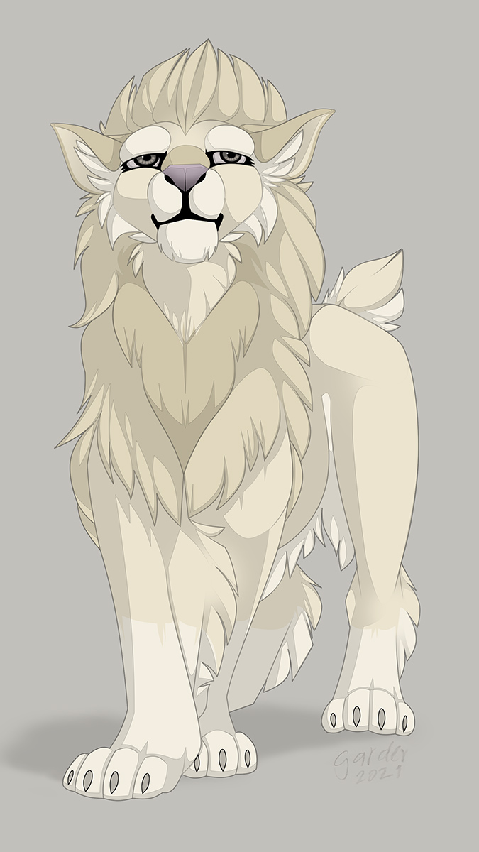 Most recent image: 2021 Maned Snow Lion