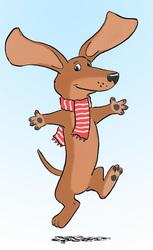 dachshund dance