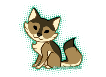 Chibi wolfy