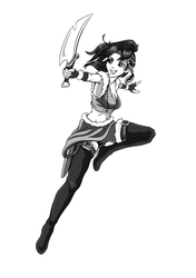Inktober Manga Tone Test