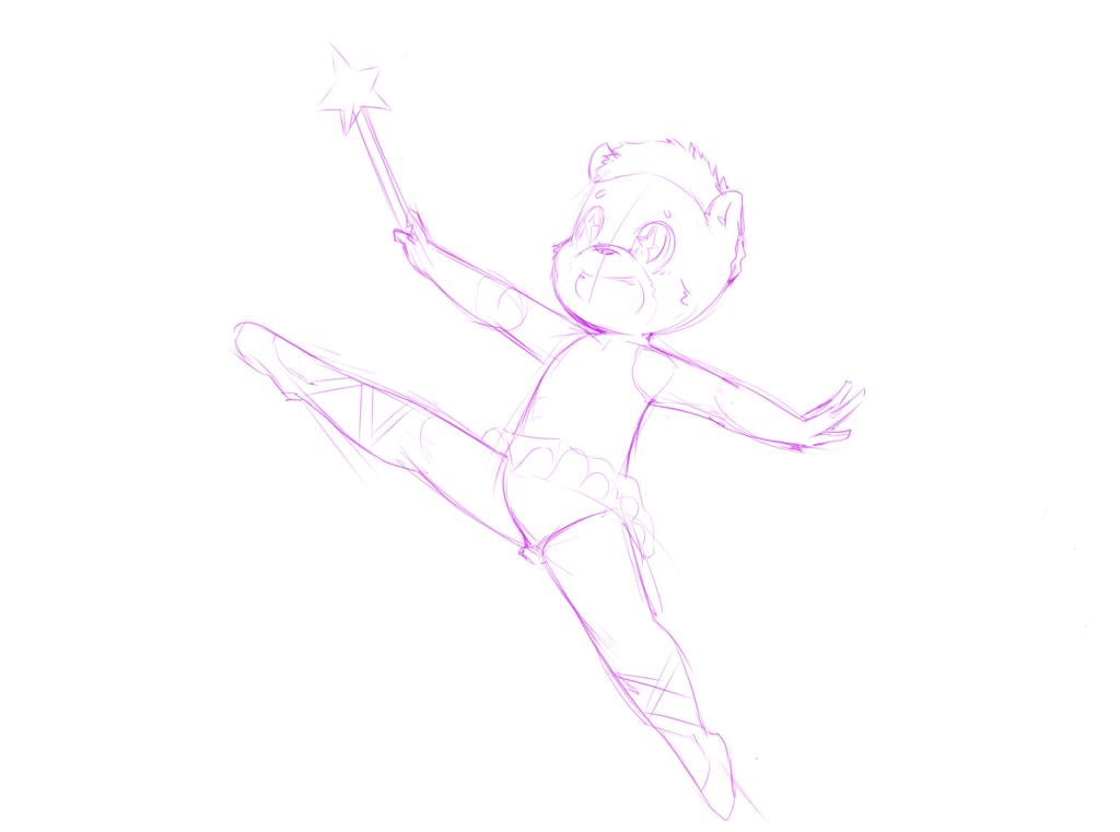 Ballerina Al Bear by OOOeyGoooey