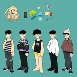 Bag/Clothes Challenge