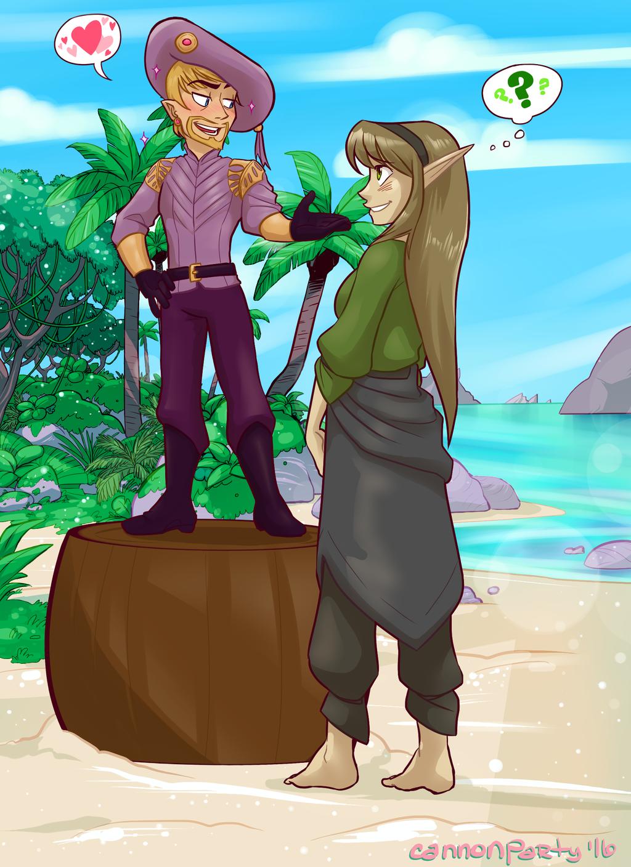 Dahlia: Gelik Gets Flirty