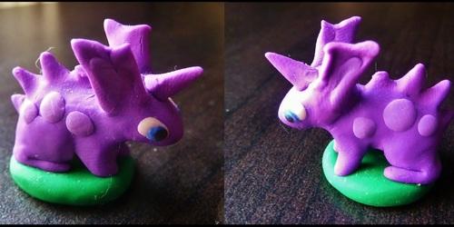 Dinky Lil Nidoran Sculpture