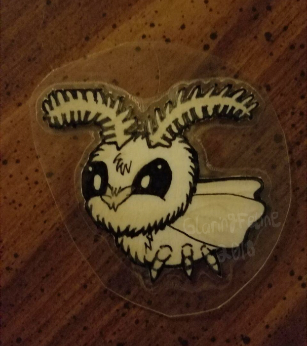 Most recent image: Moth Keychain