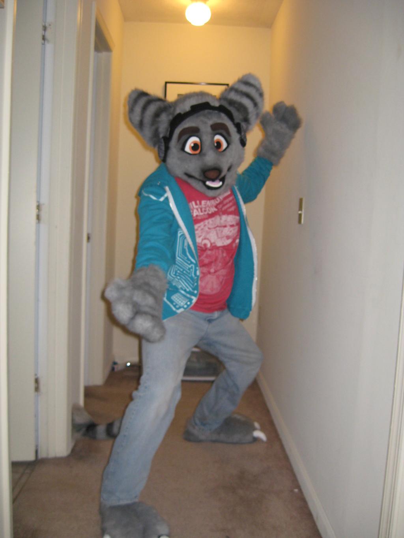 My new lombax suit! :D