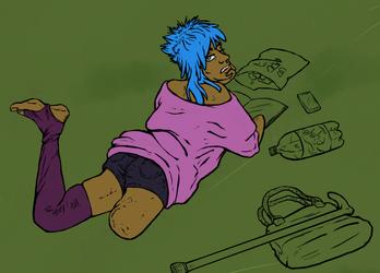 Azul is a teenage waste [WIP/Teaser]